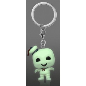 Ghostbusters - Stay Puft Glow US Exclusive Pocket Pop! Keychain