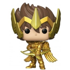 Saint Seiya - Seiya with Armor Gold US Exclusive Pop! Vinyl