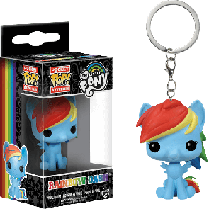 My Little Pony - Rainbow Dash Pocket Pop! Keychain