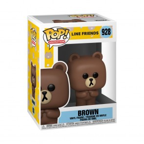 Line Friends - Brown Pop! Vinyl