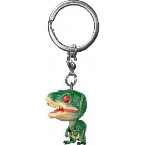 Jurassic Park - Velociraptor Red Eyes US Exclusive Pocket Pop! Keychain