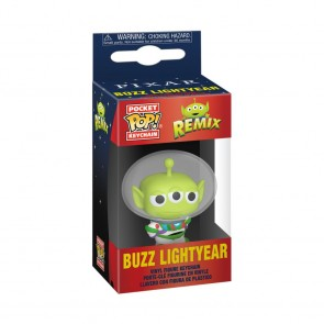 Pixar - Alien Remix Buzz Pocket Pop! Keychain