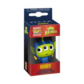 Pixar - Alien Remix Dory Pocket Pop! Keychain