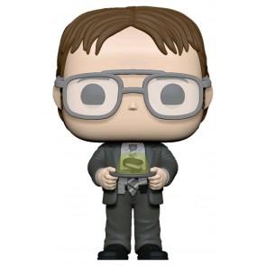 The Office - Dwight with Jello Stapler Pop! Vinyl