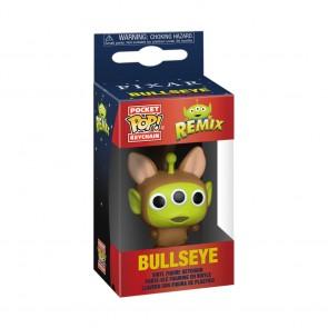 Pixar - Alien Remix Bullseye Pocket Pop! Keychain