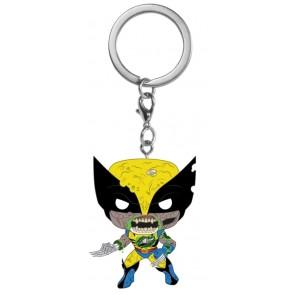 Marvel Zombies - Wolverine Pocket Pop! Keychain