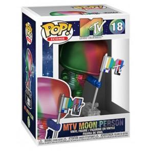 MTV - Moon Person Rainbow Metallic Pop! Vinyl