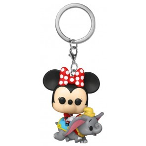 Disneyland 65th Anniversary - Minnie Dumbo Ride Pocket Pop! Keychain