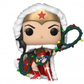 Wonder Woman - Wonder Woman with Lights Lasso Holiday Pop! Vinyl