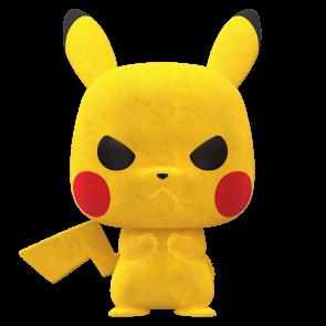 Pokemon - Pikachu Grumpy Flocked Pop! Vinyl NYCC 2020