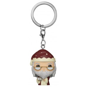 Harry Potter - Dumbledore Holiday Pocket Pop! Keychain