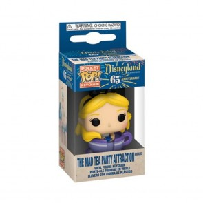 Disneyland 65th Anniversary - Alice in Teacup Pocket Pop! Keychain