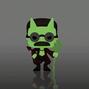 The Simpsons - Flanders Devil Glow US Exclusive Pop! Vinyl