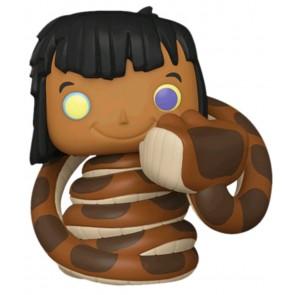 Jungle Book - Mowgli with Kaa US Exclusive Pop! Vinyl
