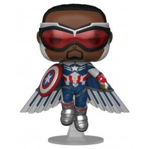 The Falcon and the Winter Soldier - - Captain America Flying US Exclusive Pop! Vinyl