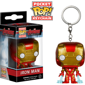 Avengers 2: Age of Ultron - Iron Man Pocket Pop! Keychain