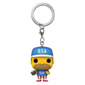 The Simpsons - Homer U.S.A. Pocket Pop! Keychain