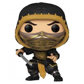 Mortal Kombat (2021) - Scorpion Metallic Pop! Vinyl