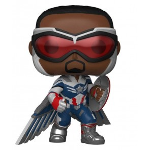 The Falcon and the Winter Soldier - Captain America Pose US Exclusive Pop! Vinyl