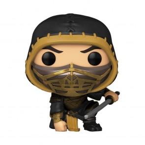 Mortal Kombat (2021) - Scorpion Crouch Metallic US Exclusive Pop! Vinyl