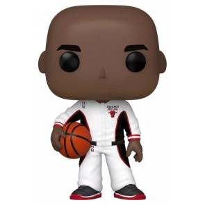 NBA - Michael Jordan (Bulls White Warmup) US Exclusive Pop! Vinyl