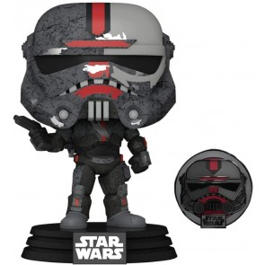 Star Wars: Across the Galaxy - Hunter US Exclusive Pop! Vinyl with Pin