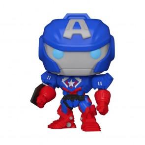 Captain America - Marvel Mech Glow US Exclusive Pop! Vinyl