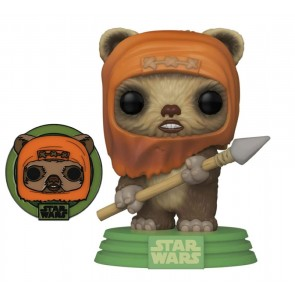 Star Wars: Across the Galaxy - Wicket US Exclusive Pop! Vinyl with Pin