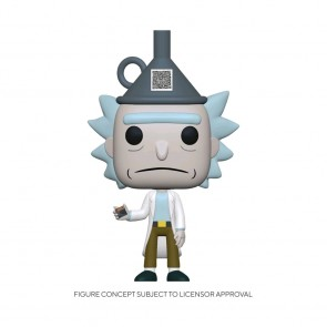 Rick and Morty - Rick with Funnel Hat US Exclusive Pop! Vinyl