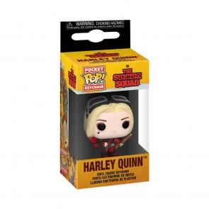 The Suicide Squad - Harley Quinn Bodysuit Pocket Pop! Keychain