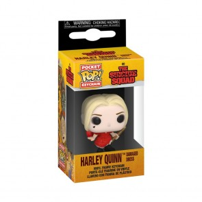 The Suicide Squad - Harley Quinn Dress Pocket Pop! Keychain