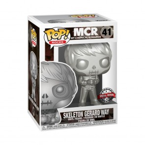 My Chemical Romance - Gerard Way Skeleton Platinum Metallic US Exclusive Pop! Vinyl