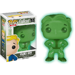 Fallout - Vault Boy Green Screen Pop! Vinyl Figure
