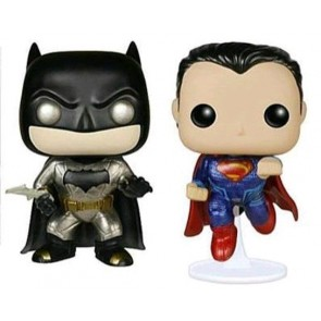 Batman v Superman: Dawn of Justice - Metallic Pop! Vinyl Figures 2-Pack