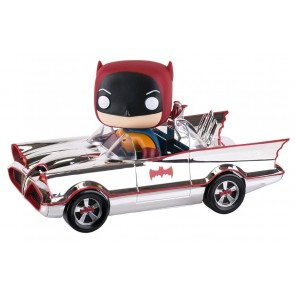 Batman - 1966 Batmobile Chrome SDCC 2016 Exclusive Pop! Ride