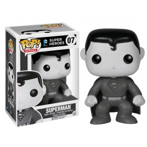 Superman - Black & White Pop! Vinyl Figure