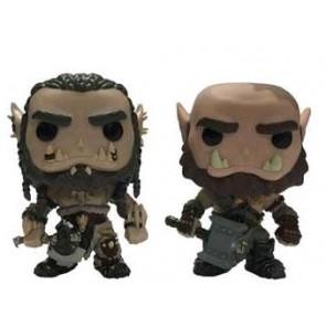 Warcraft Movie - Durotan & Orgrim Pop! Vinyl Figure 2 Pack