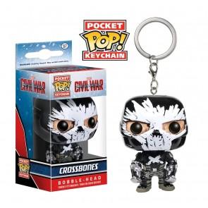 Captain America 3: Civil War - Crossbones Pocket Pop! Keychain