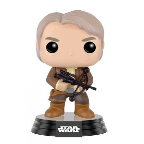 Star Wars - Han Solo with Bowcaster Ep 7 The Force Awakens SDCC 2016 Exclusive Pop! Vinyl Figure