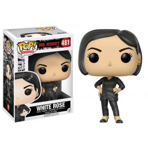 Mr Robot - White Rose Pop! Vinyl
