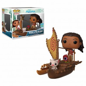 Moana - Moana w/Pua on Boat Pop! Vinyl Ride SDCC 2019
