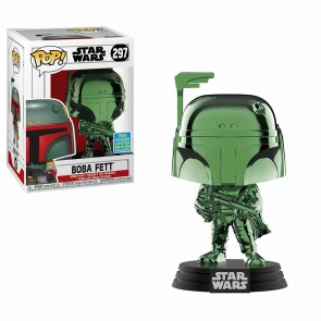 Star Wars - Boba Fett Green Chrome Pop! Vinyl SDCC 2019