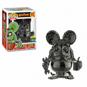 Ratfink - Ratfink Grey Chrome Pop! Vinyl SDCC 2019