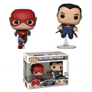 Justice League - Flash, Sman Race Pop! Vinyl 2-pack NYCC 2018