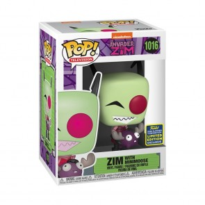 Invader Zim - Zim with Minimoose Pop! Vinyl SDCC 2020
