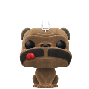 Inhumans - Lockjaw Flocked Pop! Vinyl NYCC 2017