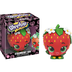 Shopkins - Strawberry Kiss Vinyl Figure