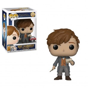 Fantastic Beasts 2: The Crimes of Grindelwald - Newt with Postcard US Exclusive Pop! Vinyl