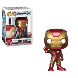 Avengers 4: Endgame - Iron Man US Exclusive Pop! Vinyl