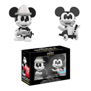 Mickey Mouse - B&W Mini Vinyl Figures 2-pack NYCC 2018